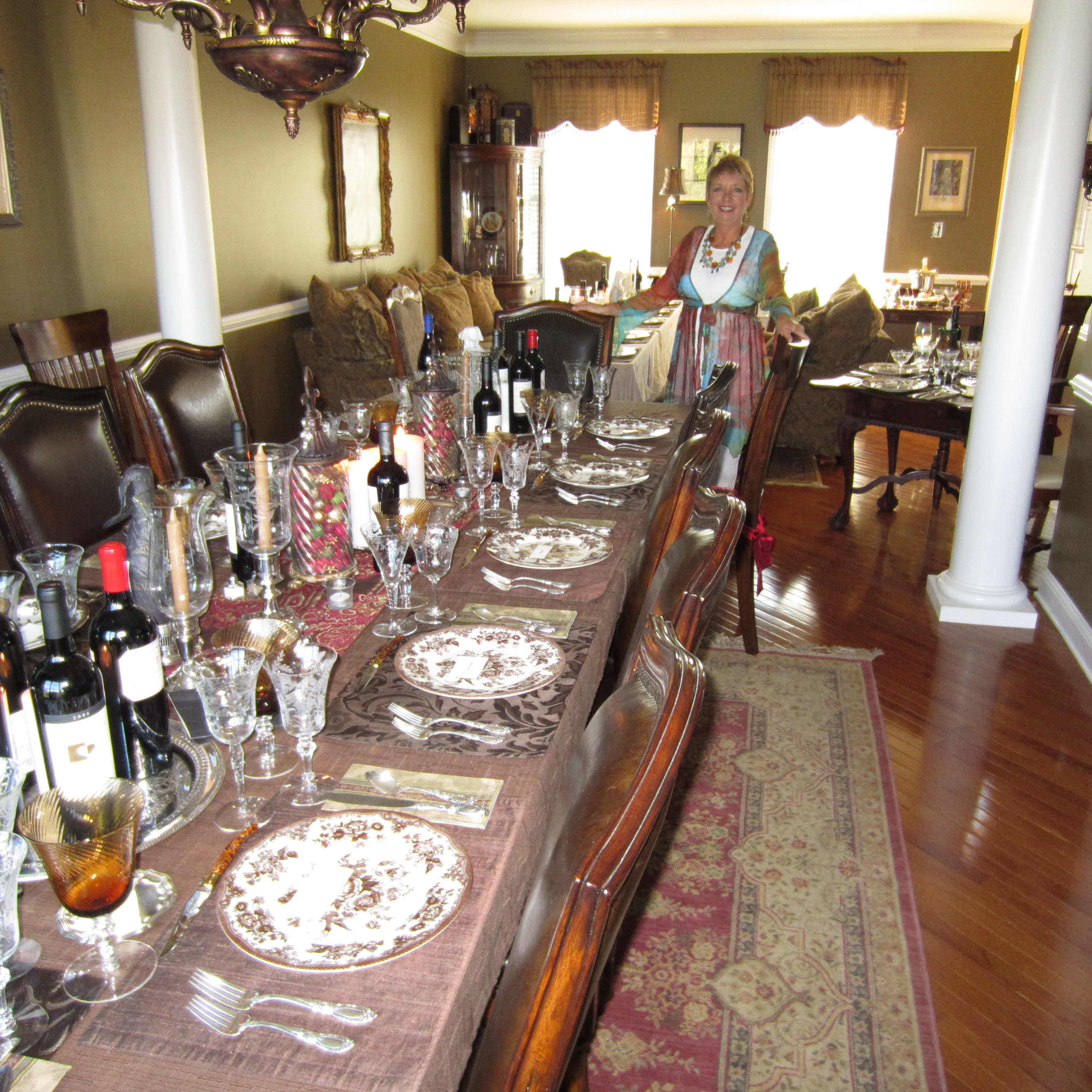 Formal dinner party table - Table Setting 101