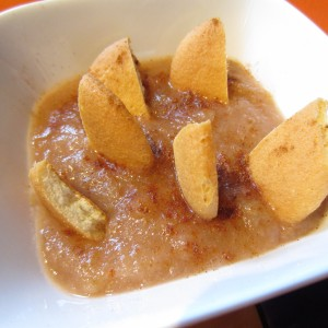 Warm Applesauce & Vanilla Wafers