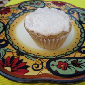 Vanilla Apple Cinnamon Cupcakes