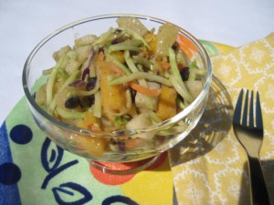 Tropical Black Bean Salad with Jicama