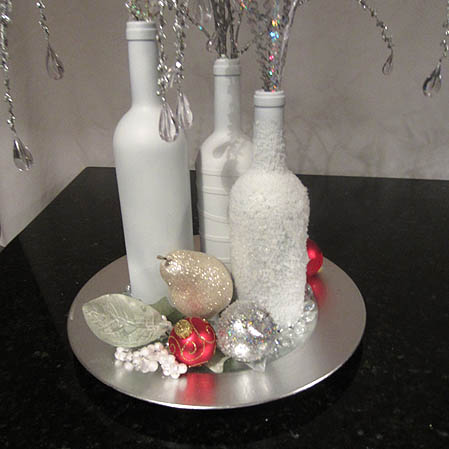 thoughts on repurposed wine bottle centerpiece how to