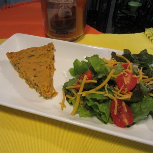 Pumpkin Quiche Pie