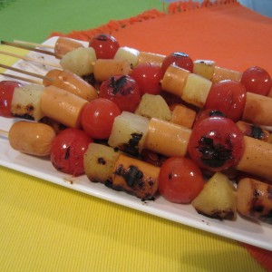 Gourmet Hot Dog Kabobs