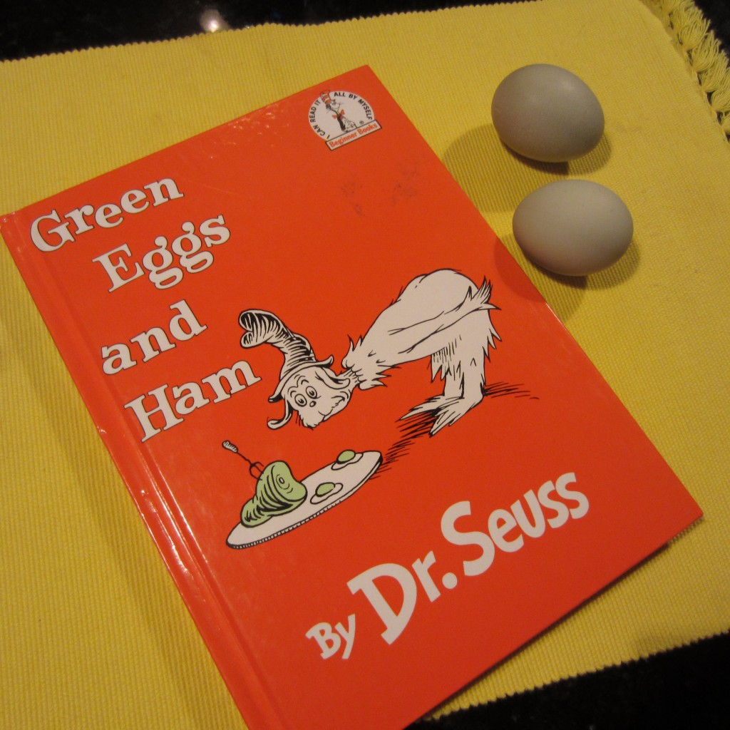 Green Chicken Eggs