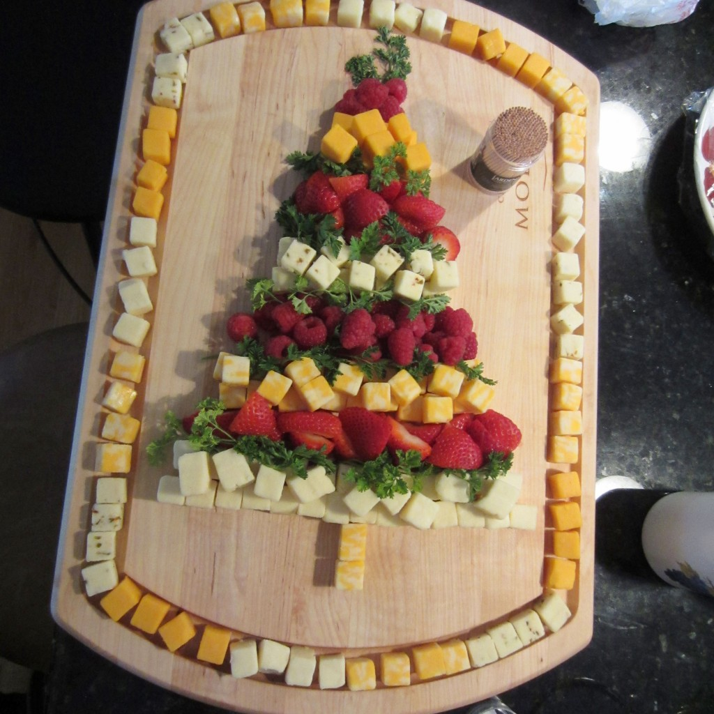 Cheese Tower Christmas Tree