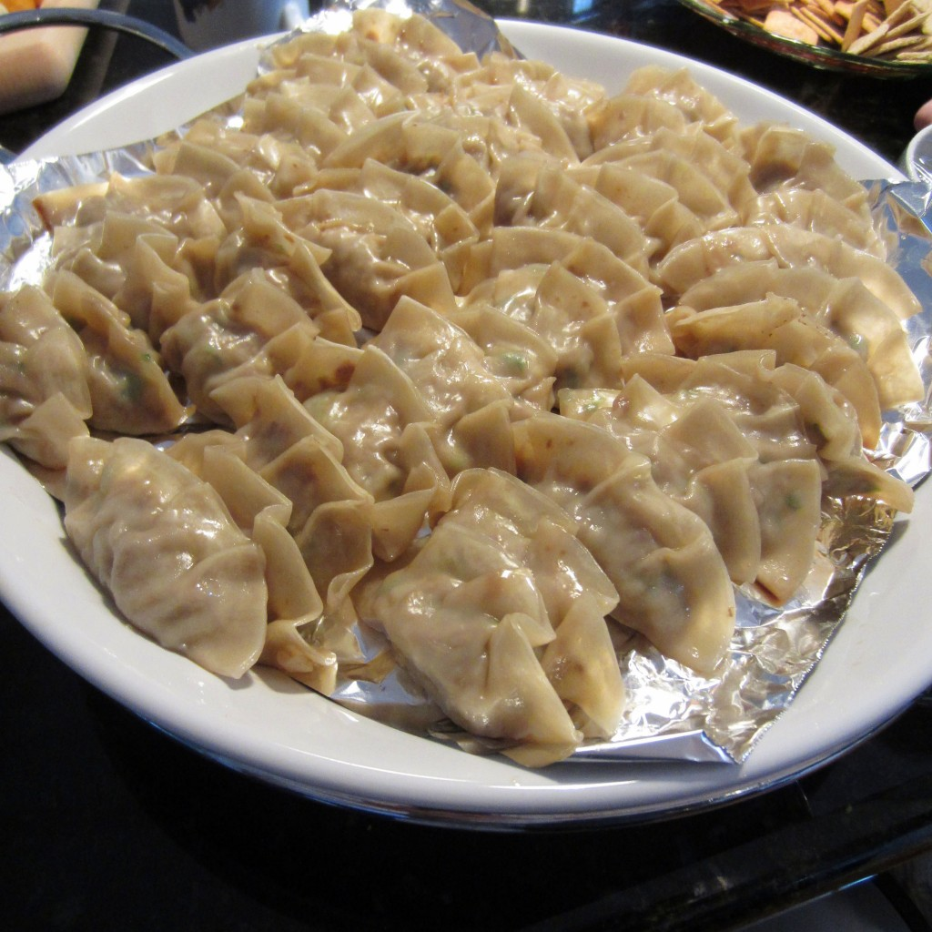 Japanese Gyoza from Scratch