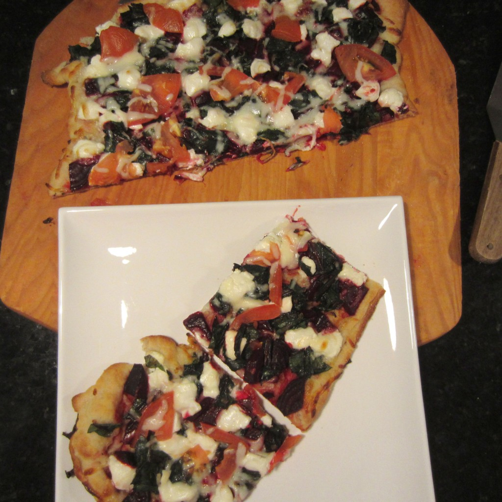 Beet & Goat Cheese Pizza