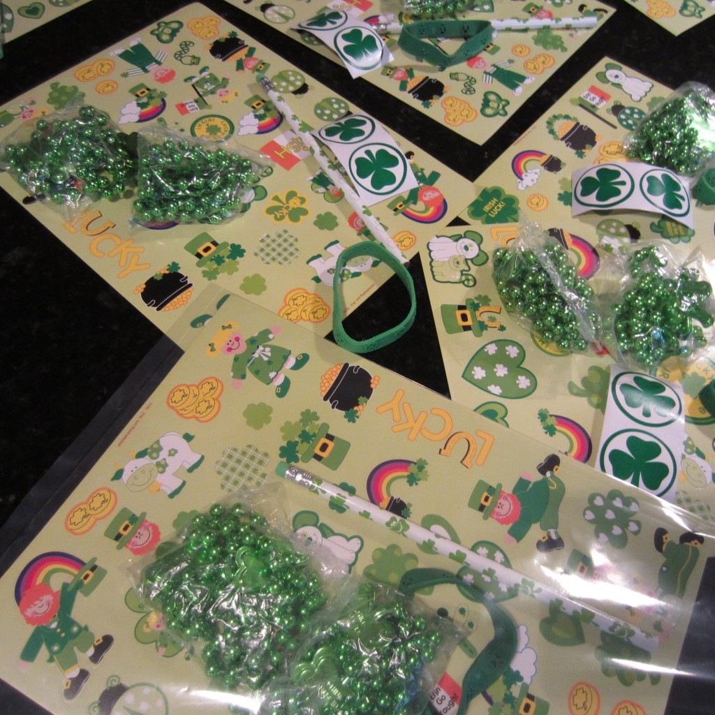 St. Patrick's Day Gift Bags for Kids