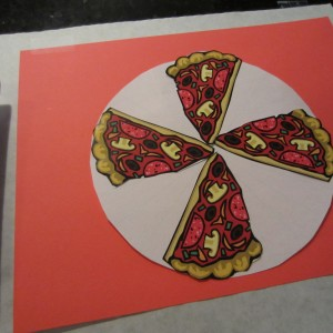 Pizza Placemat Hide and Find