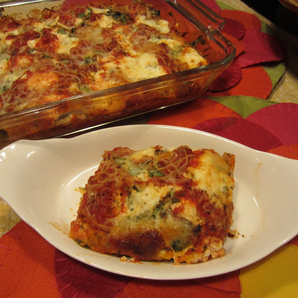 Eggplant Lasagna with No Pasta