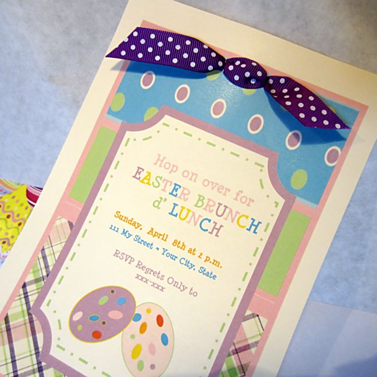 Printable Easter Brunch Invitation