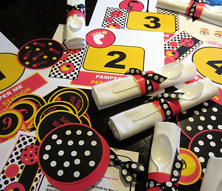 Polka Dot Birthday Party Theme