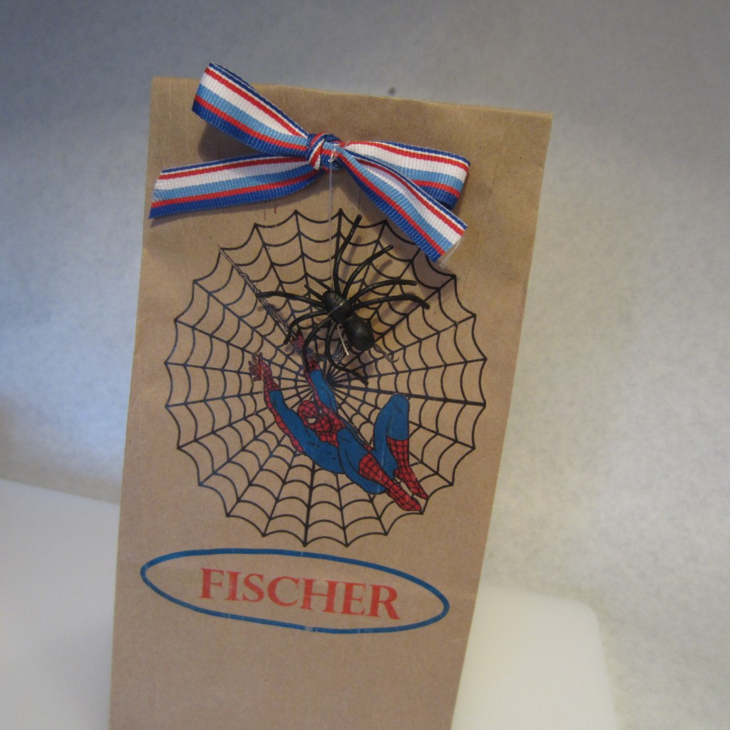 Spiderman Paper Lunch Bag