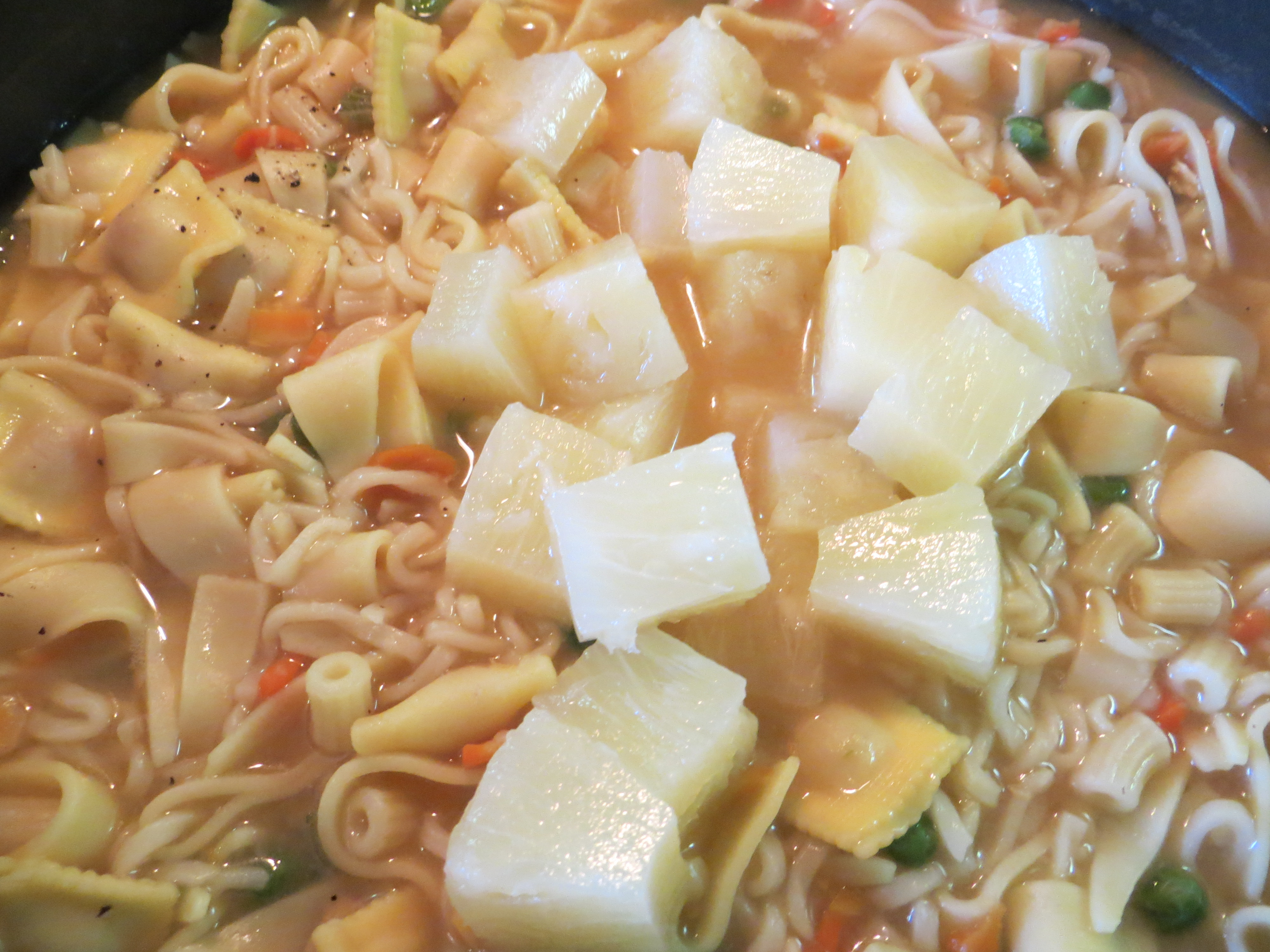 how to make chicken noodle soup caribbean style